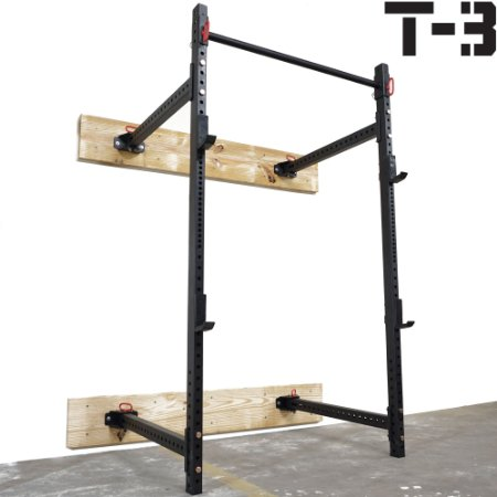 titan fitness t3 wall mount squat rack review